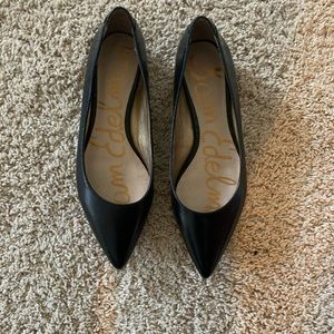 Sam Edelman black pointed toe flats